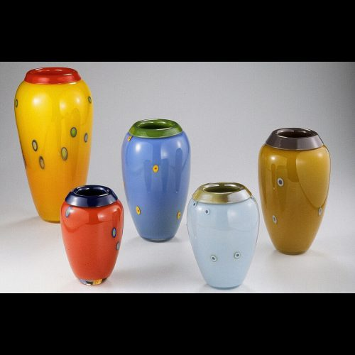 Folded Lip Vase